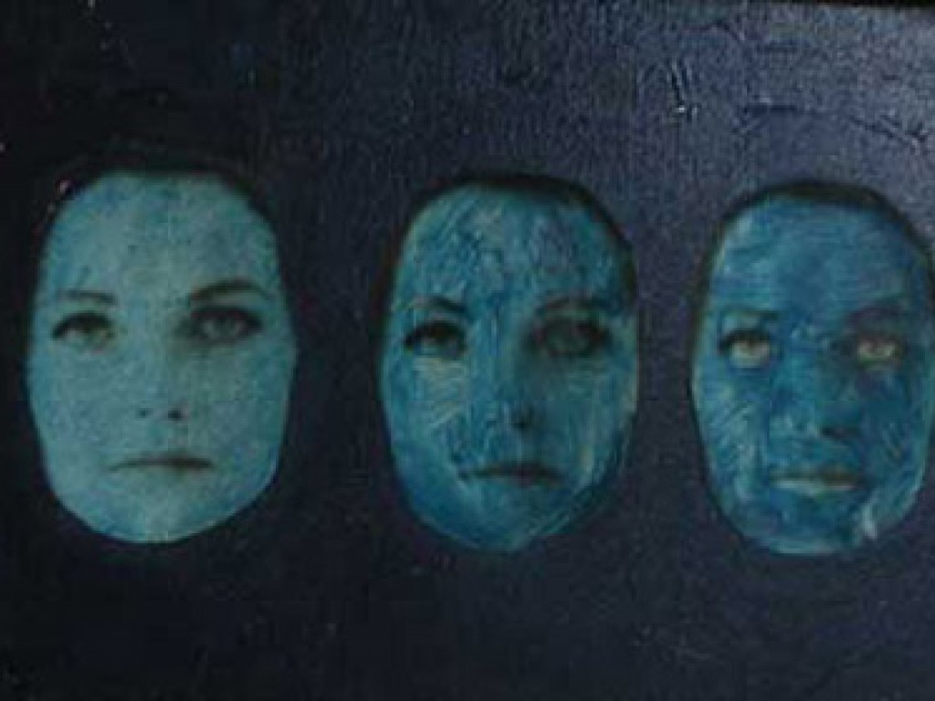 """TRUDY — THREE FACES  18"""" x 12"""" oil on canvas"""