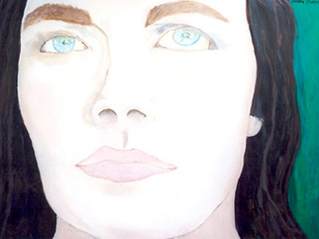 """HELENE — CLOSE UP    48″ x 36"""" oil on canvas"""
