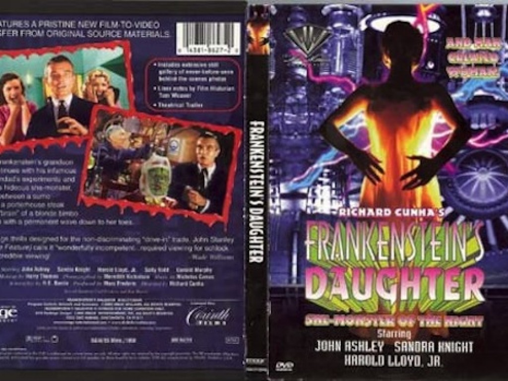 Frankensteins Daughter Poster